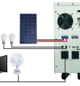 Solar Power System 400 watt / 600 VA